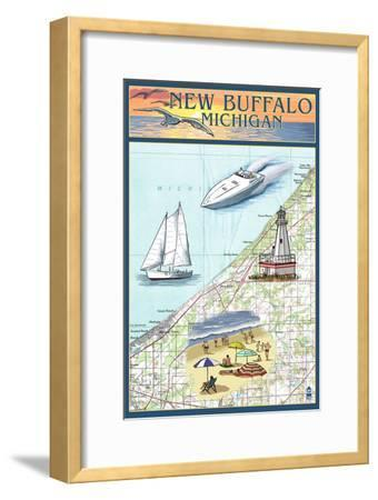 New Buffalo, Michigan - Nautical Chart