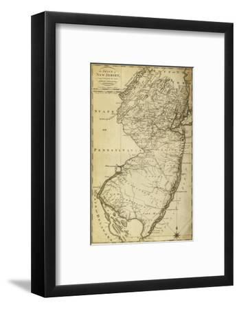 New Jersey - Panoramic Map