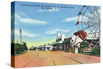 New Orleans, Louisiana - Pontchartrain Beach Amusement Park