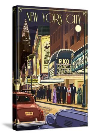 New York City, New York - Theater Scene