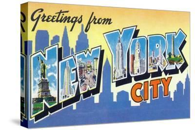 New York, New York - Large Letter Scenes