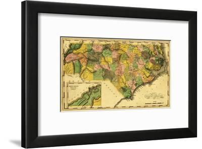 North Carolina - Panoramic Map