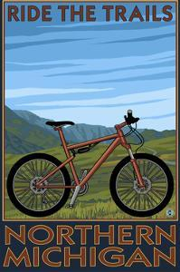 Northern Michigan - Ride the Trails by Lantern Press