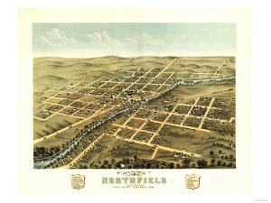 Northfield, Minnesota - Panoramic Map by Lantern Press