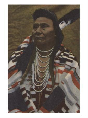 Northwest Indians - Chief Joseph of the Nez Perces Tribe by Lantern Press