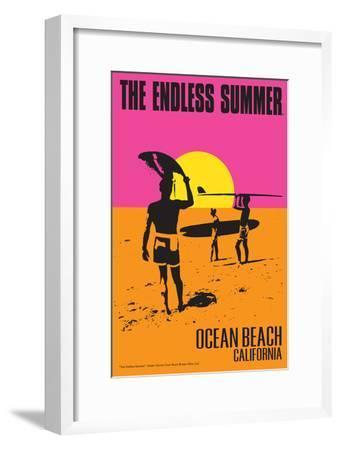 Ocean Beach, California - the Endless Summer - Original Movie Poster