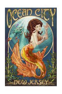 Ocean City, New Jersey - Mermaid by Lantern Press