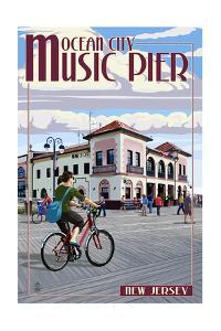 Ocean City, New Jersey - Music Pier by Lantern Press