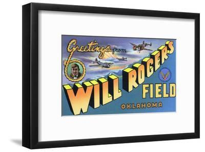 Oklahoma - Will Rogers Field, Large Letter Scenes
