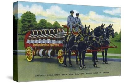 Omaha, Nebraska - Storz Brewing Company Beer Delivery Carriage
