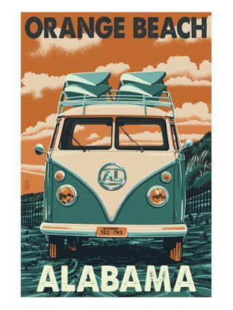 Orange Beach, Alabama - VW Van