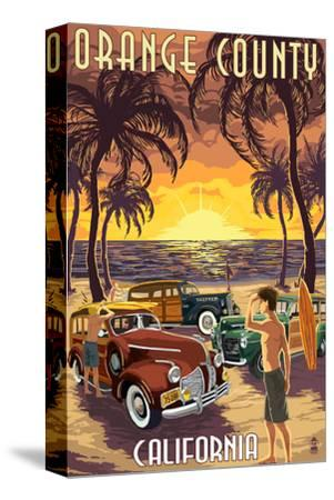 Orange County, California - Woodies and Sunset