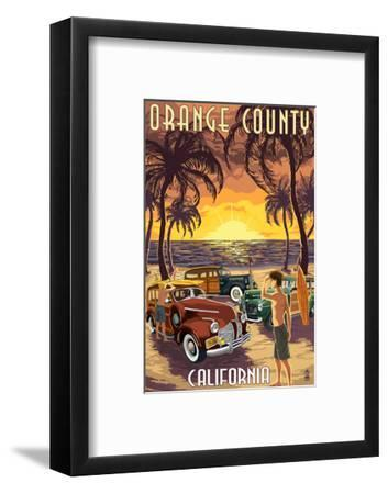 Orange County, California - Woodies and Sunset