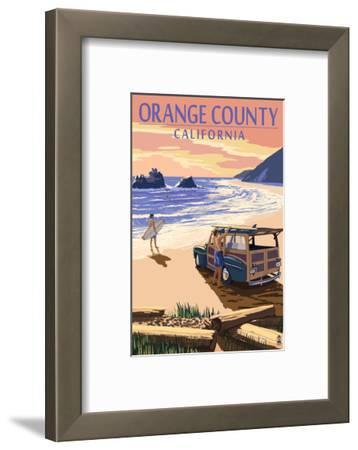 Orange County, California - Woody on Beach