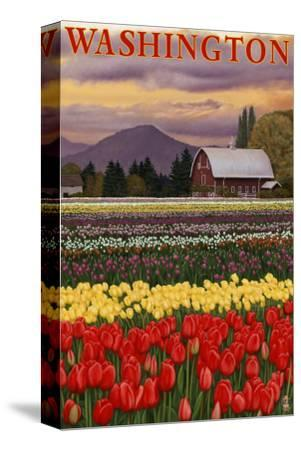 Orca and Calf - Tulip Fields