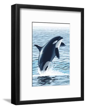 Orca Whale Jumping