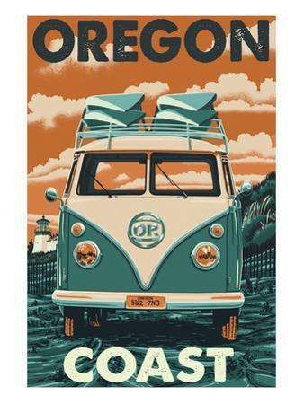 Oregon Coast - VW Van