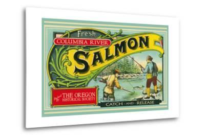Oregon - Columbia River - the Oregon Historical Society Salmon Label