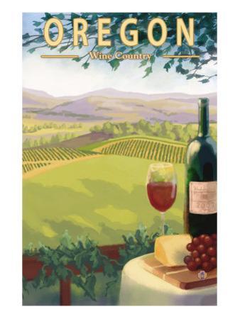 Oregon Wine Country, c.2009 by Lantern Press