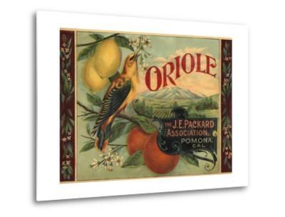 Oriole Brand - Pomona, California - Citrus Crate Label