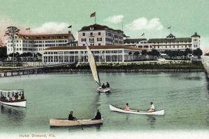 Ormond, Florida - Hotel Ormond Exterior View by Lantern Press