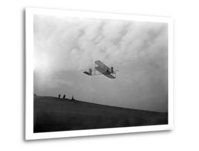 Orville Wright Testing Glider Photograph - North Carolina