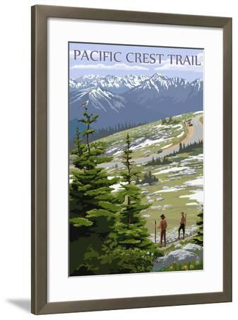 Pacific Crest Trail and Hikers