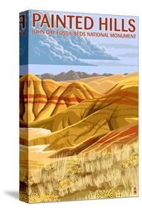 Painted Hills - John Day Fossil Beds, Oregon by Lantern Press