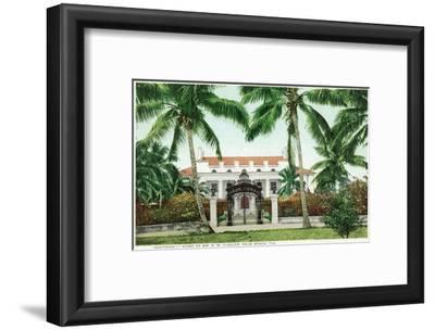 Palm Beach, Florida - Flagler House, Whitehall Exterior View