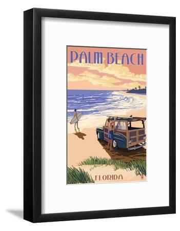 Palm Beach, Florida - Woody on the Beach