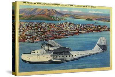 """Pan American Airways """"China Clipper"""" from Orient - San Francisco, CA"""