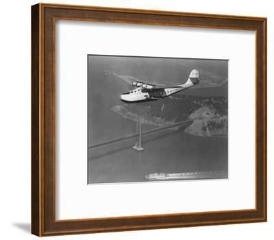 Pan American Philippine Martin Clipper over San Francisco Photograph - San Francisco, CA