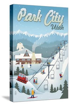 Park City, Utah - Retro Ski Resort