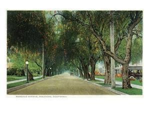 Pasadena, California - View Down Marengo Avenue by Lantern Press