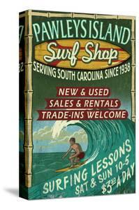 Pawleys Island, South Carolina - Surf Shop by Lantern Press