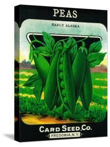 Peas Seed Packet by Lantern Press
