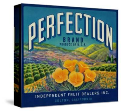 Perfection Orange Label - Colton, CA by Lantern Press