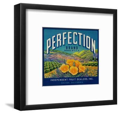 Perfection Orange Label - Colton, CA