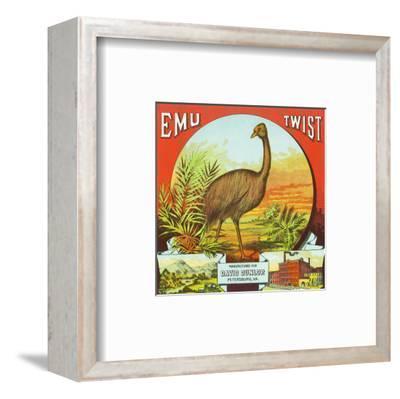 Petersburg, Virginia, Emu Twist Brand Tobacco Label