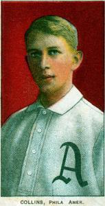 Philadelphia, PA, Philadelphia Athletics, Eddie Collins, Baseball Card by Lantern Press