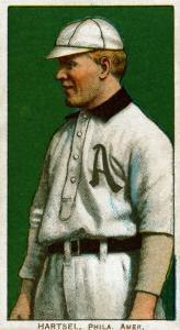 Philadelphia, PA, Philadelphia Athletics, Topsy Hartsel, Baseball Card by Lantern Press