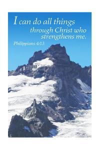 Philippians 4:13 - Inspirational by Lantern Press