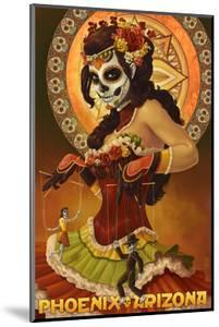 Phoenix, Arizona - Day of the Dead Marionettes by Lantern Press
