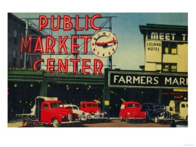 Pike Place Market, Seattle, WA - Seattle, WA