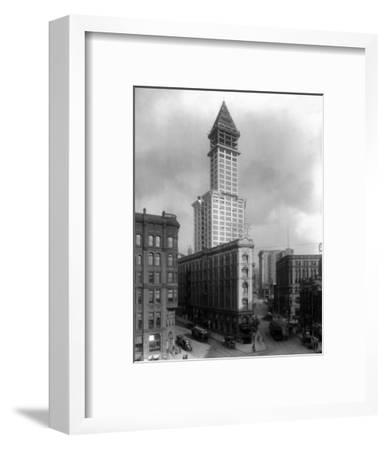 Pioneer Square and Smith Tower Construction - Seattle, WA
