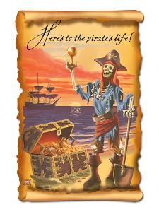 Pirate and Plunder by Lantern Press