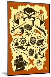Pirate Icons by Lantern Press