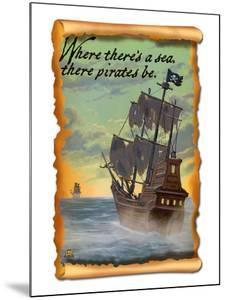Pirate Ship by Lantern Press