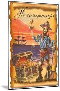 Pirate with Plunder by Lantern Press
