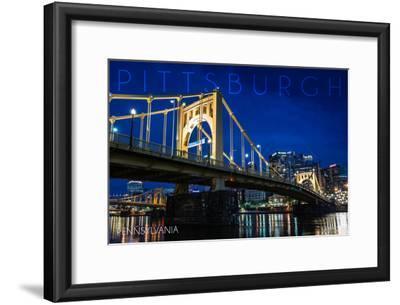Pittsburgh, Pennsylvania - Roberto Clemente Bridge